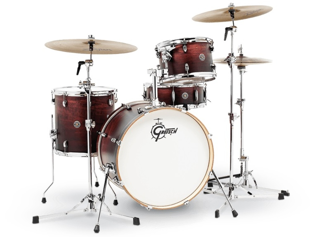 "Shell Set Gretsch Catalina Club CT1-J404-SAF Satin Antique Fade, 20"", 12"", 14"", 14"""