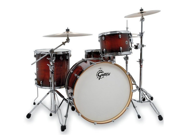 "Shell Set Gretsch Catalina Club CT1-J404-GAB Gloss Antique Burst, 20"", 12"", 14"", 14"""