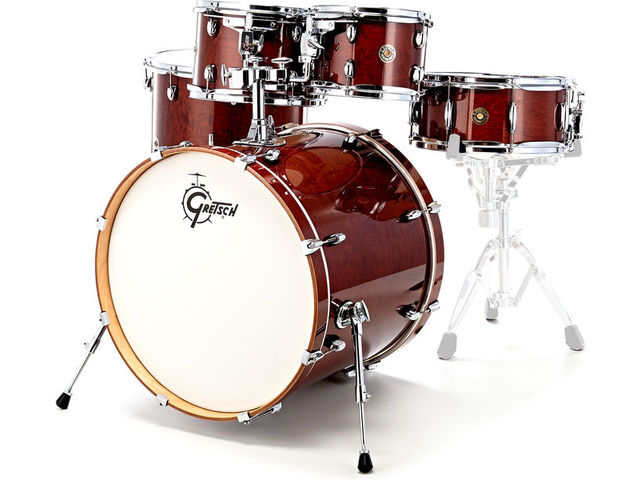 "Shell Set Gretsch Catalina Maple CM1-E825-WG Walnut Glaze, 22"", 10"", 12"", 16"", 14"""