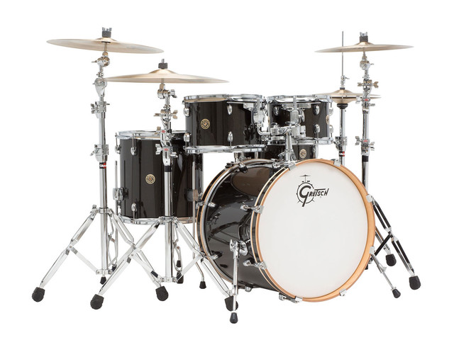 "Shell Set Gretsch Catalina Maple CM1-E825-BBS Black Bronze Sparkle, 22"", 10"", 12"", 16"", 14"""