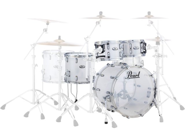 "Shell set Pearl Crystal Beat CRB524FP/C733 Frost Acrylic, 22"", 12"", 14"", 16"""