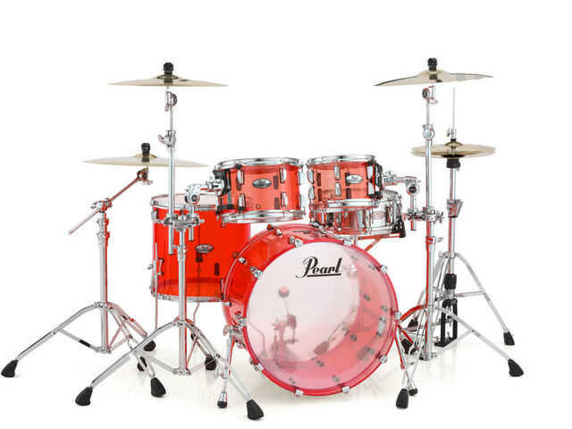"Shell set Pearl Crystal Beat CRB524FP/C731 Ruby Red, 22"", 12"", 14"", 16"""