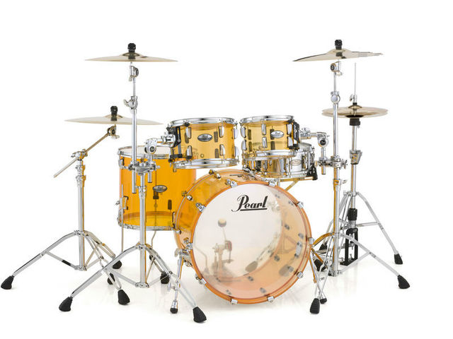 "Shell set Pearl Crystal Beat CRB524FP/C732 Tangerine Glass, 22"", 12"", 14"", 16"""
