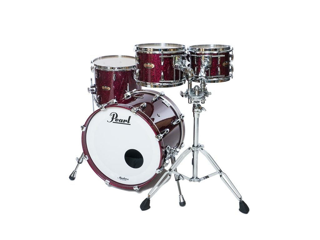 "Shell Set Pearl Masters Maple Reserve MRV904XEP/C354 Saphir Bordeaux Sparkle, 20"", 10"", 12"", 14"""