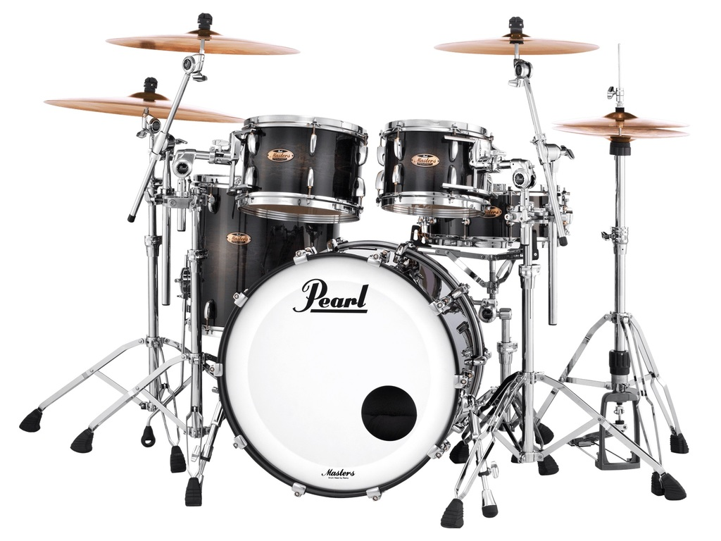 "Shell Set Pearl Masters Maple Reserve MRV924XEP/C359 Twilight Burst, 22"", 10"", 12, 16"""