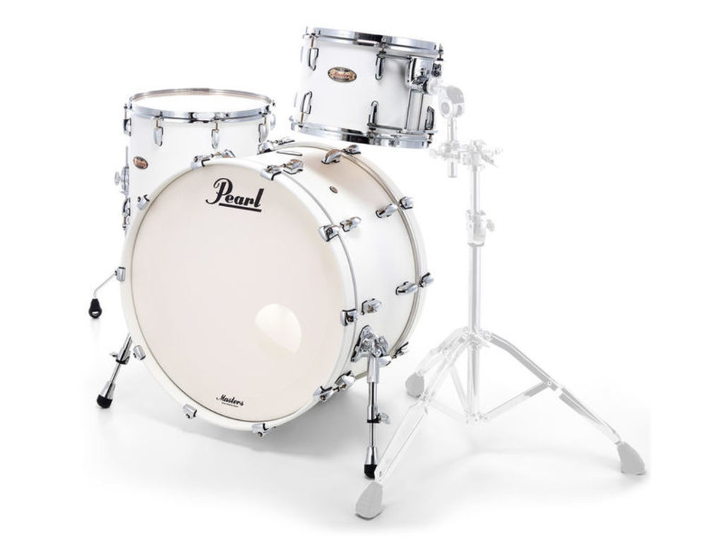 "Shell Set Pearl Masters Maple Reserve MRV943XEP/C353 Matte White, 24"", 13"", 16"""