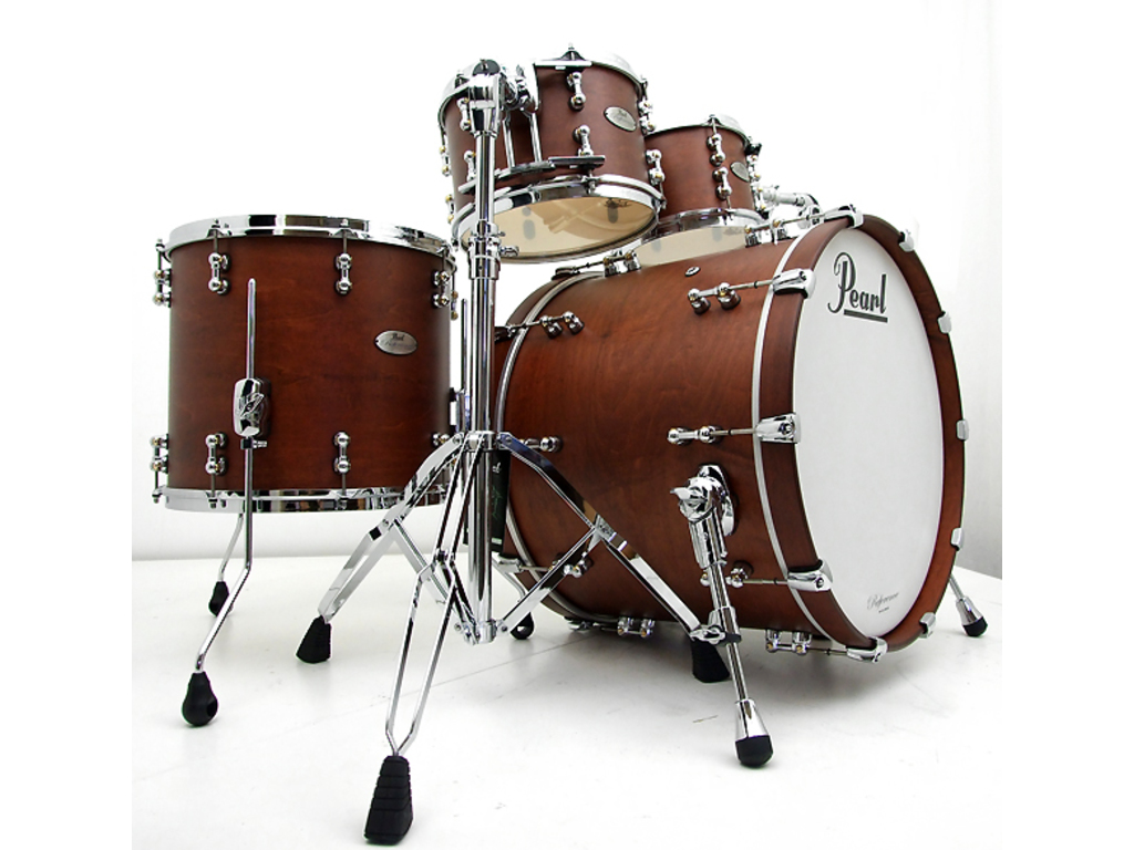"Shell Set Pearl Reference Pure RFP904XEP/C355 Antique Walnut, 20"", 10"", 12"", 14"""