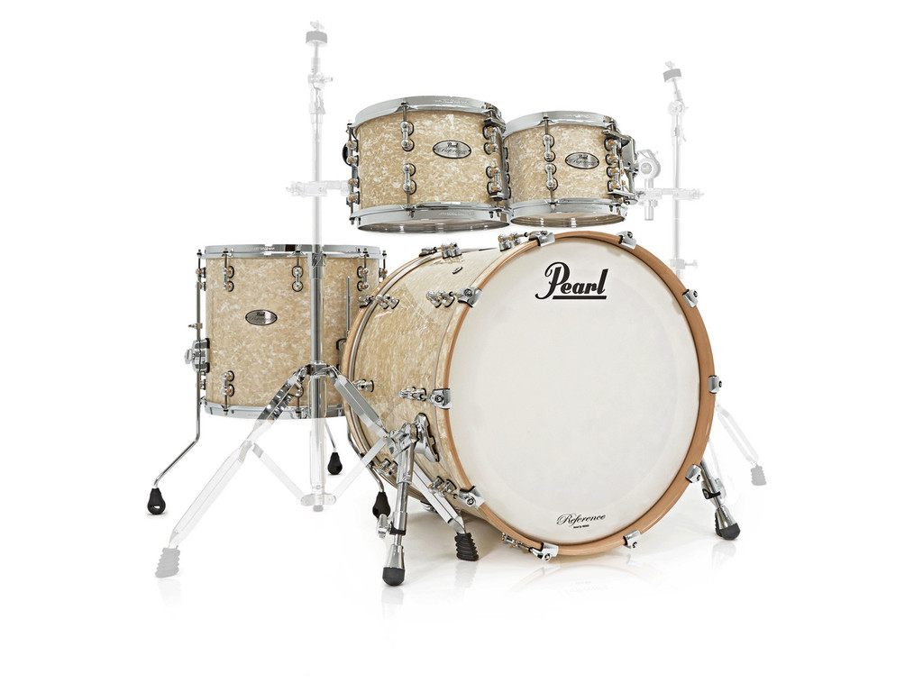 "Shell Set Pearl Reference Pure RFP924XEP/C483 Vintage Marine Pearl, 22"", 10"", 12"", 16"""