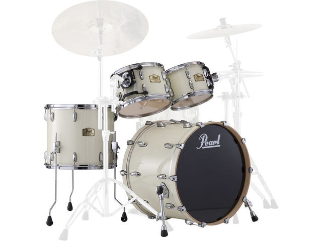 "Shell Set Pearl Session Studio Classic SSC904XUP/C106 Antique Ivory, 20"", 10"", 12"", 14"", exclusief hardware"
