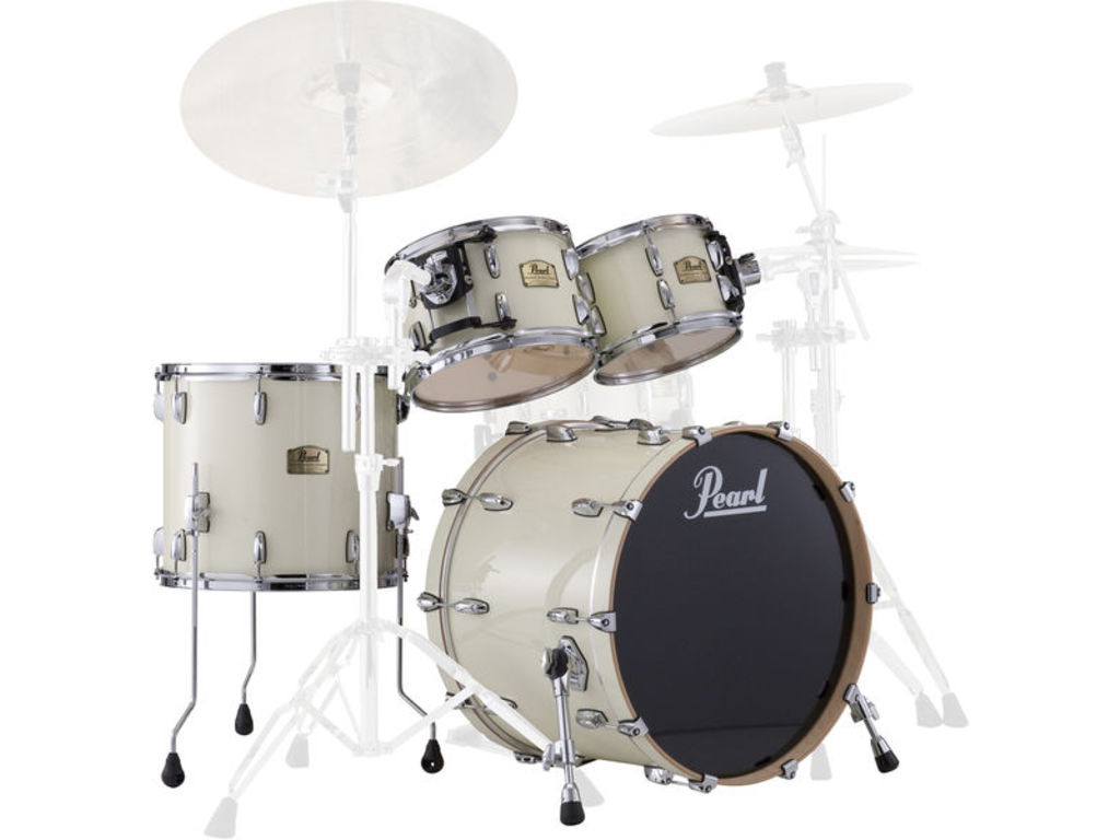 "Shell Set Pearl Session Studio Classic SSC924XUP/C106 Antique Ivory, 22"", 10"", 12"", 16"", exclusief hardware"