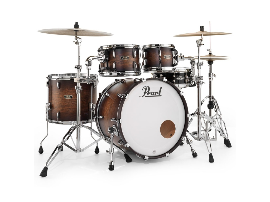 "Shell Set Pearl Wood Fiberglass FW924XSP/C, 22"", 10"", 12"", 16"""