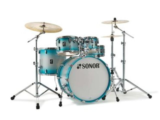 "Shell Set Sonor AQ2 Serie Stage Set ASB Aqua Silver Burst, 22"", 10"", 12"", 16"", 14"""