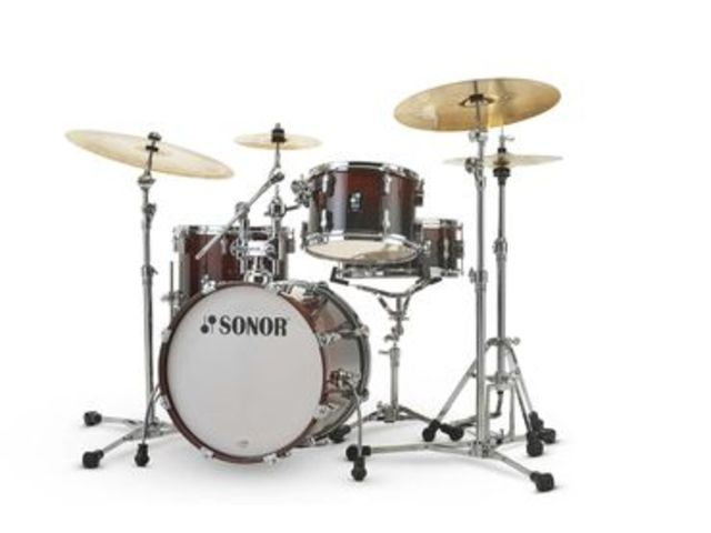"Shell Set Sonor AQ2 Serie Bop Set BRF Brown Fade, 18"", 12"", 14"", 14"""