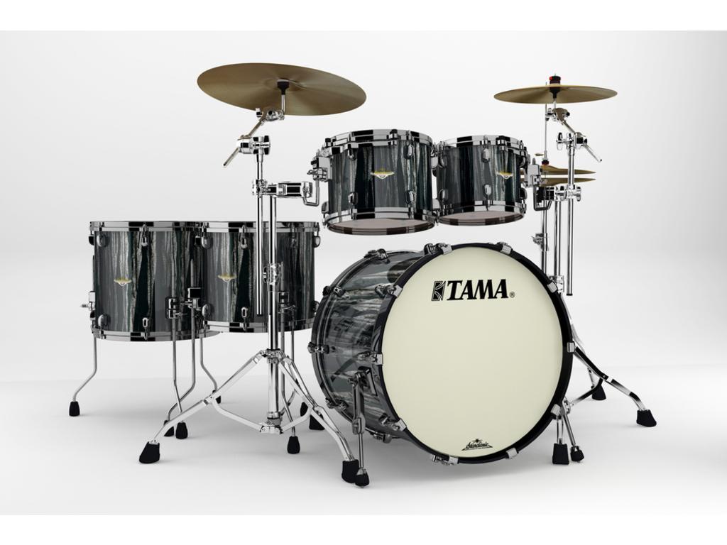 Shell Ensemble Tama Starclassic Bubinga Bg52zbns Bcs Black Clouds