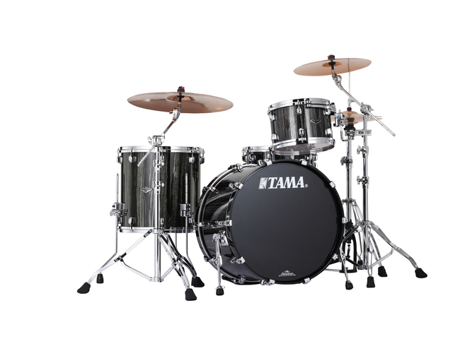 "Shell Set Tama Starclassic Performer B/B PP32RZS-BCS Black Clouds & Silver Linnings, 22"", 12"", 16"", MC69 Tom Houder"