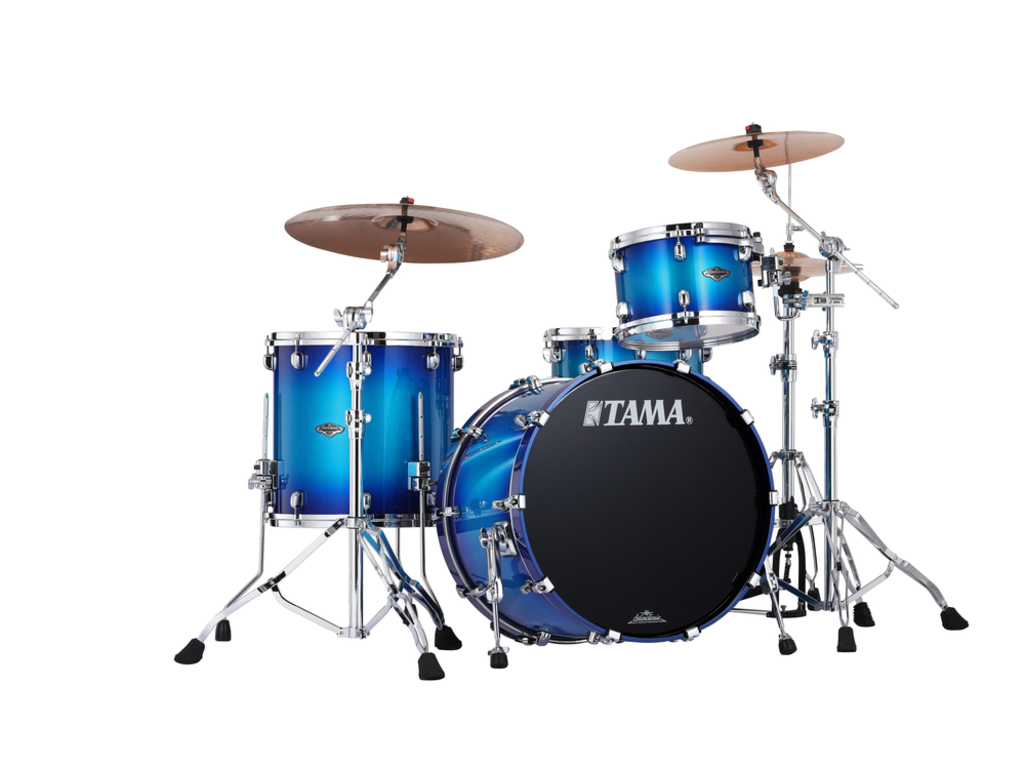 "Shell Set Tama Starclassic Performer B/B PS32RZS-TWB Twilight Blue Burst, 22"", 12"", 16"", MC69 Tom Houder"