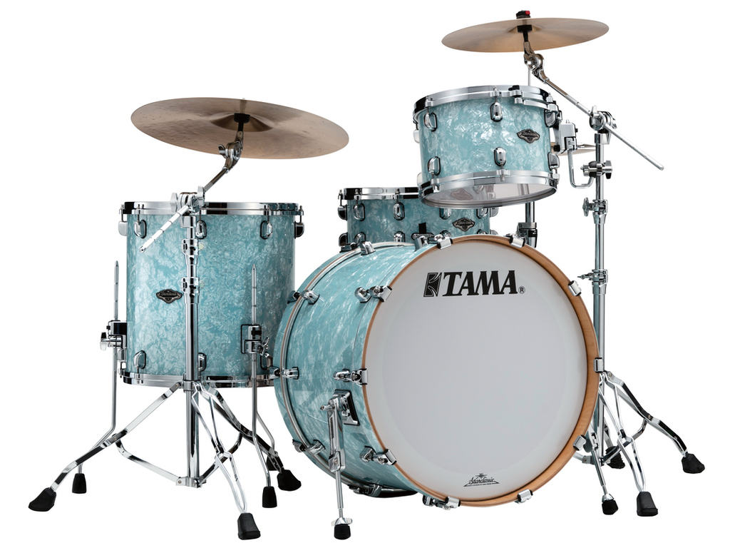 "Shell Set Tama Starclassic Performer B/B PR32RZS-IBP Ice Blue Pearl, 22"", 12"", 16"", MC69 Tom Houder"
