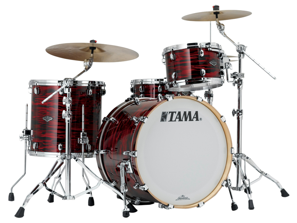 "Shell Set Tama Starclassic Performer B/B PR32RZS-ROY Red Oyster, 22"", 12"", 16"", MC69 Tom Houder"