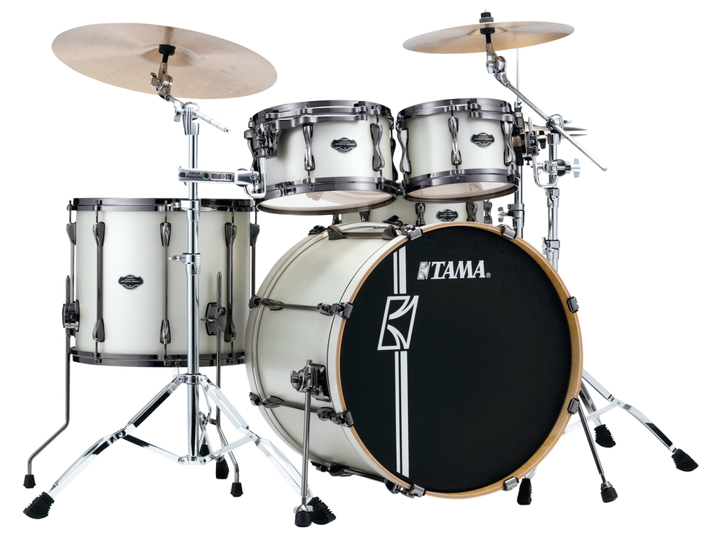 Shell set Tama Superstar Hyper-Drive Maple ML42HLZBNS-SAP Satin Arctic Pearl, 22