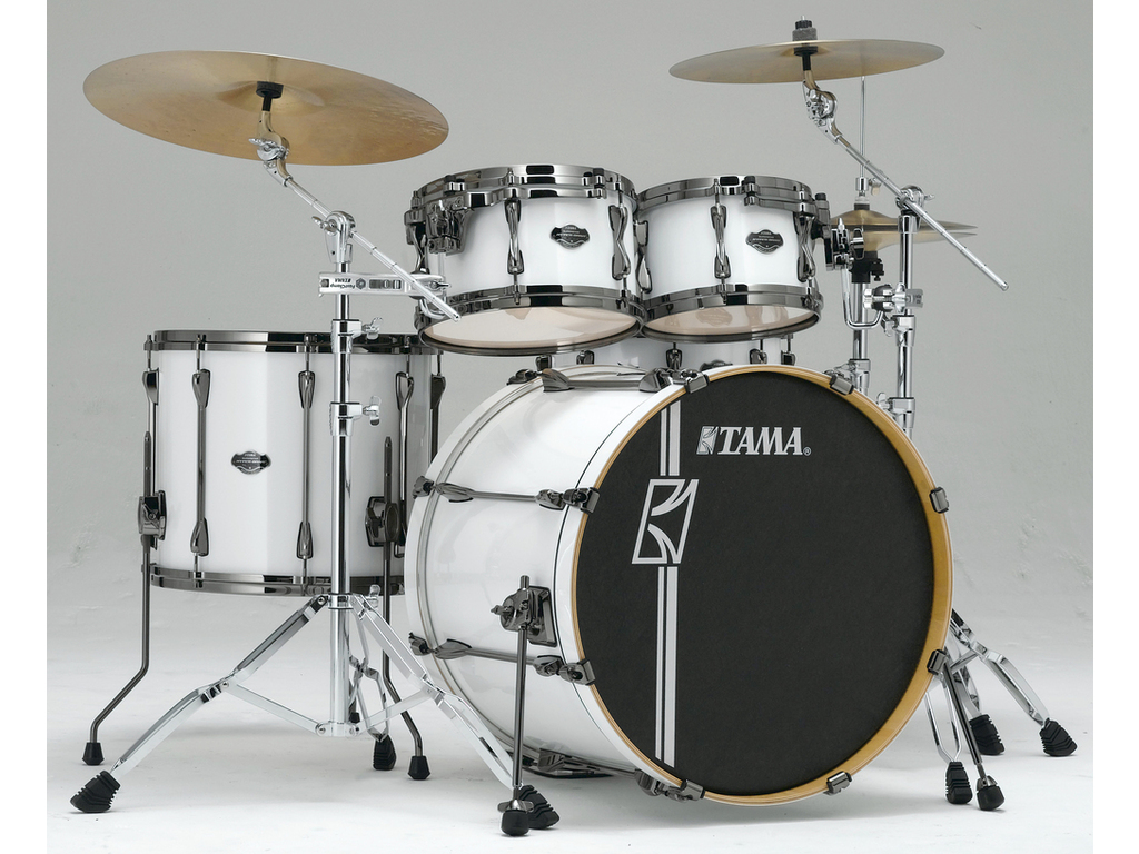 "Shell Set Tama Superstar Hyper-Drive Maple MK52HLZBNS, 22"", 10"", 12"", 14"", 16"", MC69 Tom Houder"
