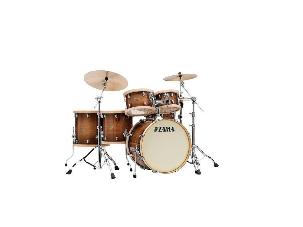 "Shell Set Tama LMP52RTLS-GSE, S.L.P., Studio Maple, 22"", 10"", 12"", 14"", 16"", Houten Hardware"