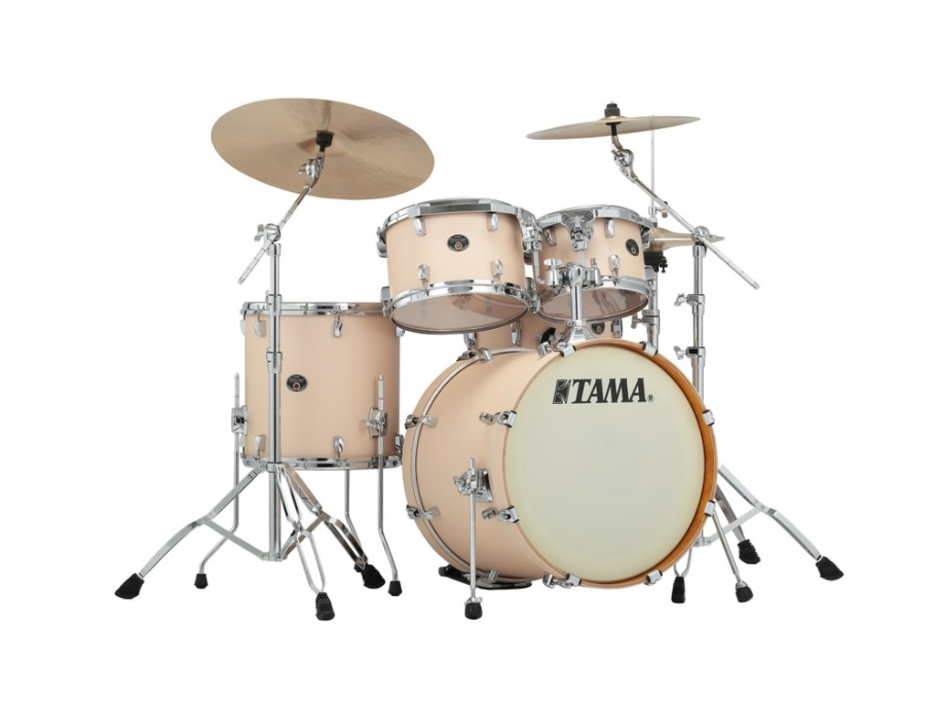 "Shell Set Tama Silverstar VD50RS-MCS Matte Copper Sparkle, 20"", 10"", 12"", 14"", 14"", Tom houder MTH905N"