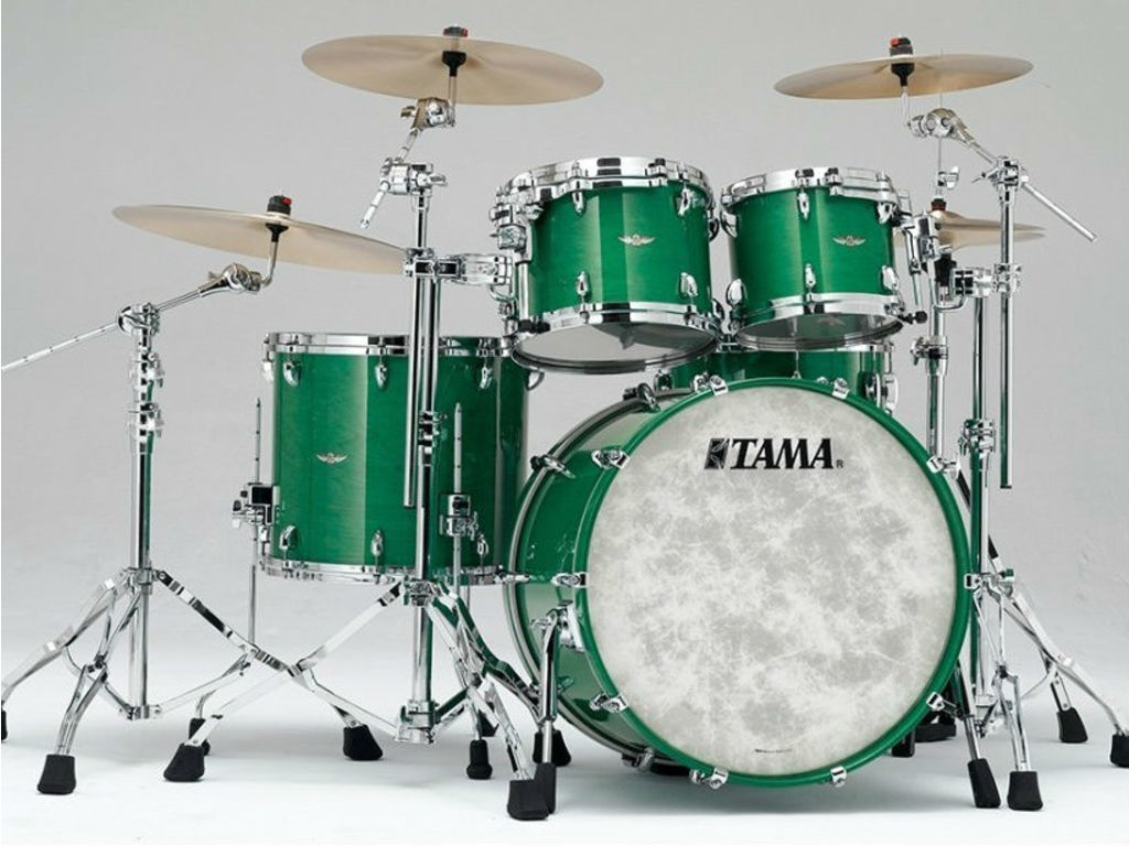 "Shell Set Tama Star Walnut TW42RZS-MGN Mint Green Mist, 22"", 10"", 12"", 16"""