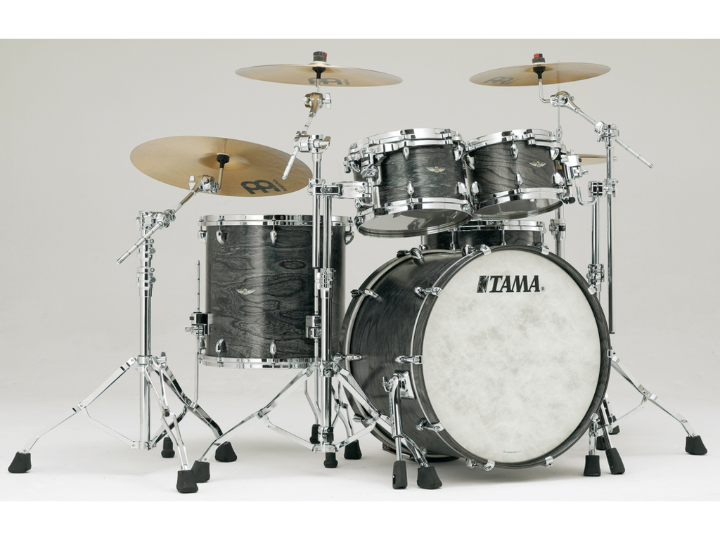 "Shell Set Tama Star Walnut TW42RZS-ASCS Satin Charcoal Japanese Sen, 22"", 10"", 12"", 16"""
