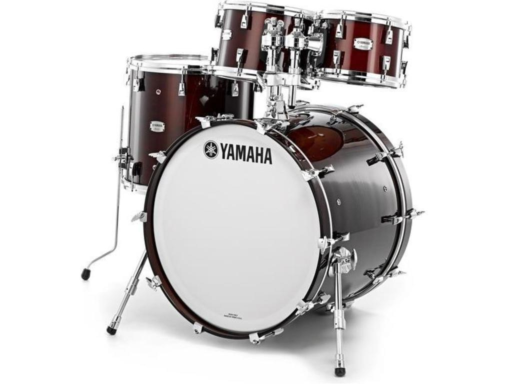 "Shell Set Yamaha Absolute Hybrid Maple JAMJAZZWLN Classic Walnut, 18"", 10"", 12"", 14"""