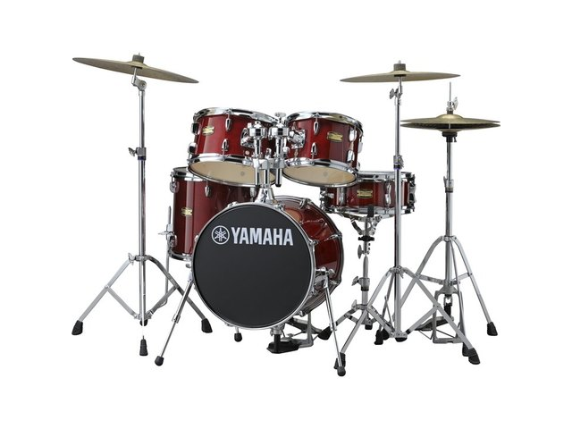 "Shell Set Yamaha Junior Kit JK6F5CR Cranberry Red, 16"", 10"", 12"", 13"", 12"", zonder hardware"