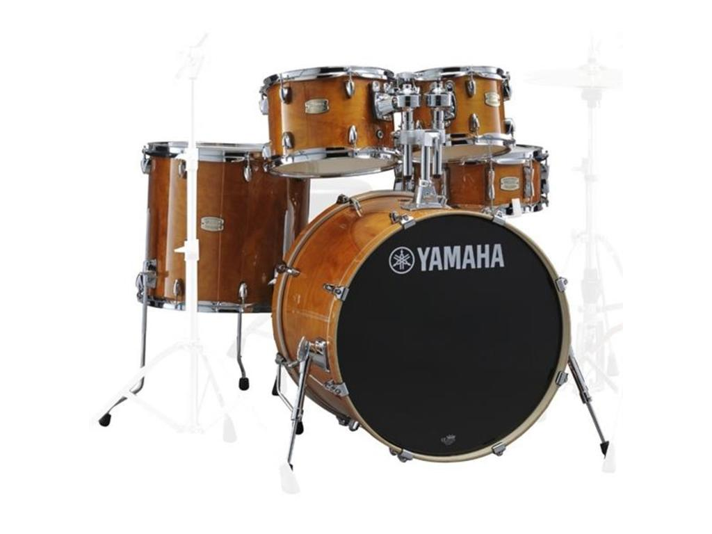 "Shell Set Yamaha Stage Custom Birch JSBP2F5HA Honey Amber, 22"", 10"", 12"", 16"", 14"""