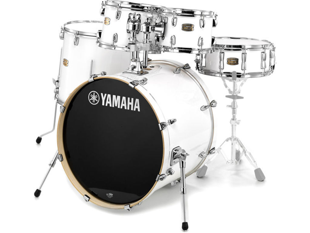 "Shell Set Yamaha Stage Custom Birch JSBP2F5PWH Pure White, 22"", 10"", 12"", 16"", 14"""