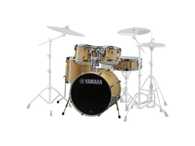 "Shell Set Yamaha Stage Custom Birch JSBP0F5NW Natural Wood, 20"", 10"", 12"", 14"", 14"""