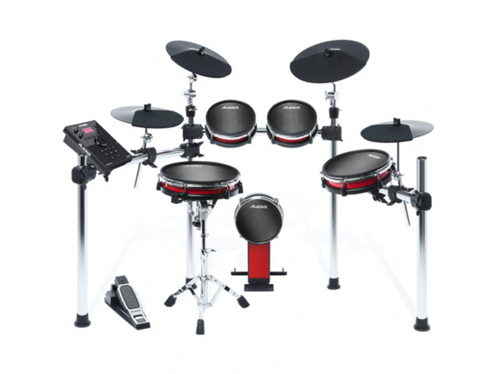 Elektronisch Drumstel Alesis Crimson II Mesh Kit, 1 x snare, 1 x kick, 3 x tom, 2 x crash, 1 x ride, 1 x hi-hat pad