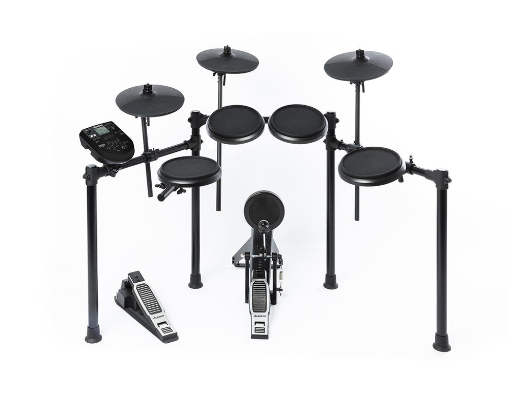 Electronic Drumset Alesis Nitrokit, 8-piece Drum Kit with Nitro Drum Module