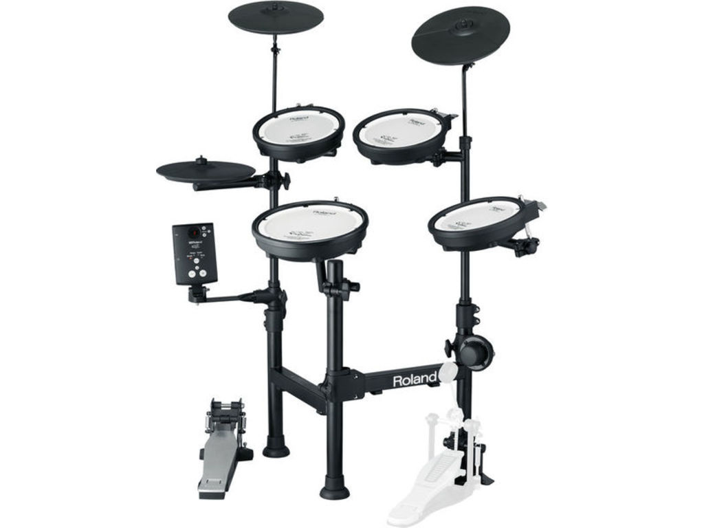 Elektronisch Drumstel Roland TD-1KPX, Portable Set, TD-1 Sound Module, Snare, Kick, 3 Toms, Hihat, Crash, Ride