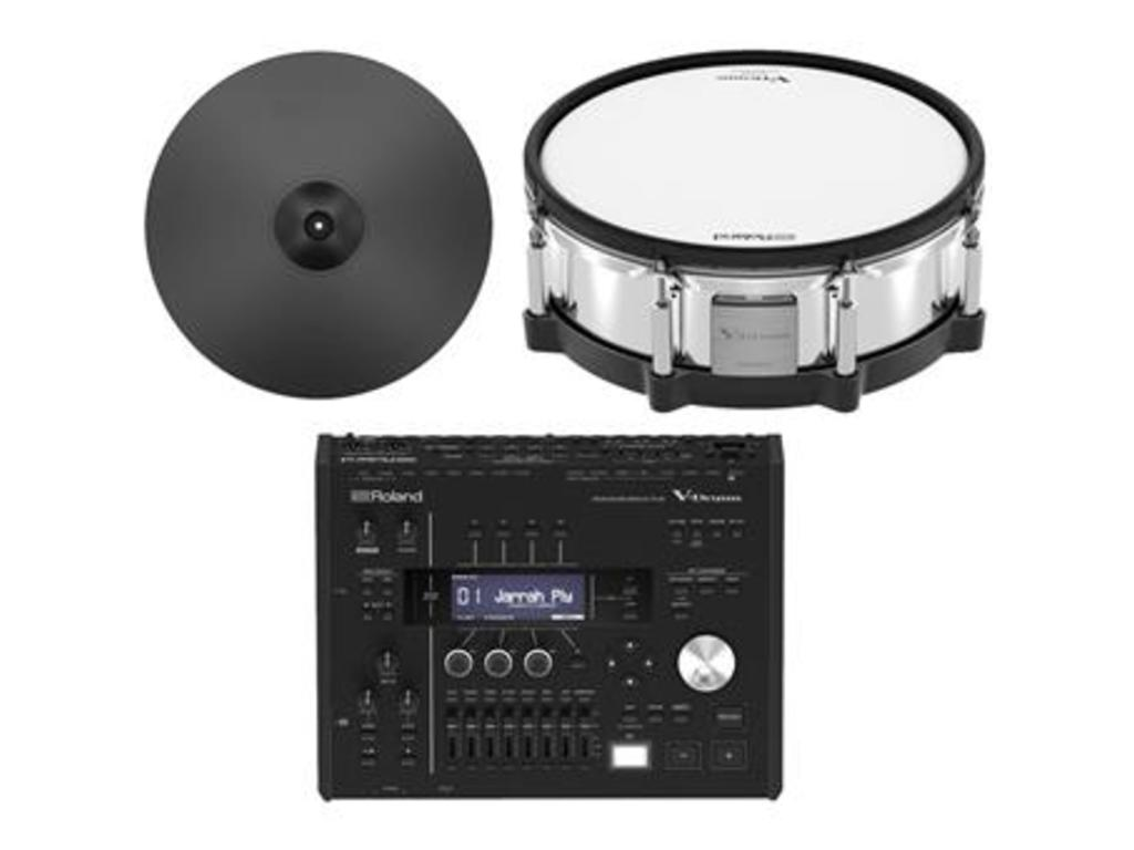 Roland TD-50DP Digital Upgrade Pack,  TD50 module, CY-18DR digitale ride, PD-140DS V-Pad snaredrum