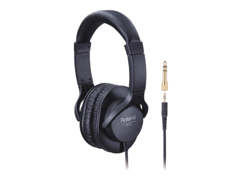 Headphones Roland RH-5, Stereo Headphones, Freq. 10 - 22.000 Hz, 3.5mm mini-jack, length Cable 3 meter