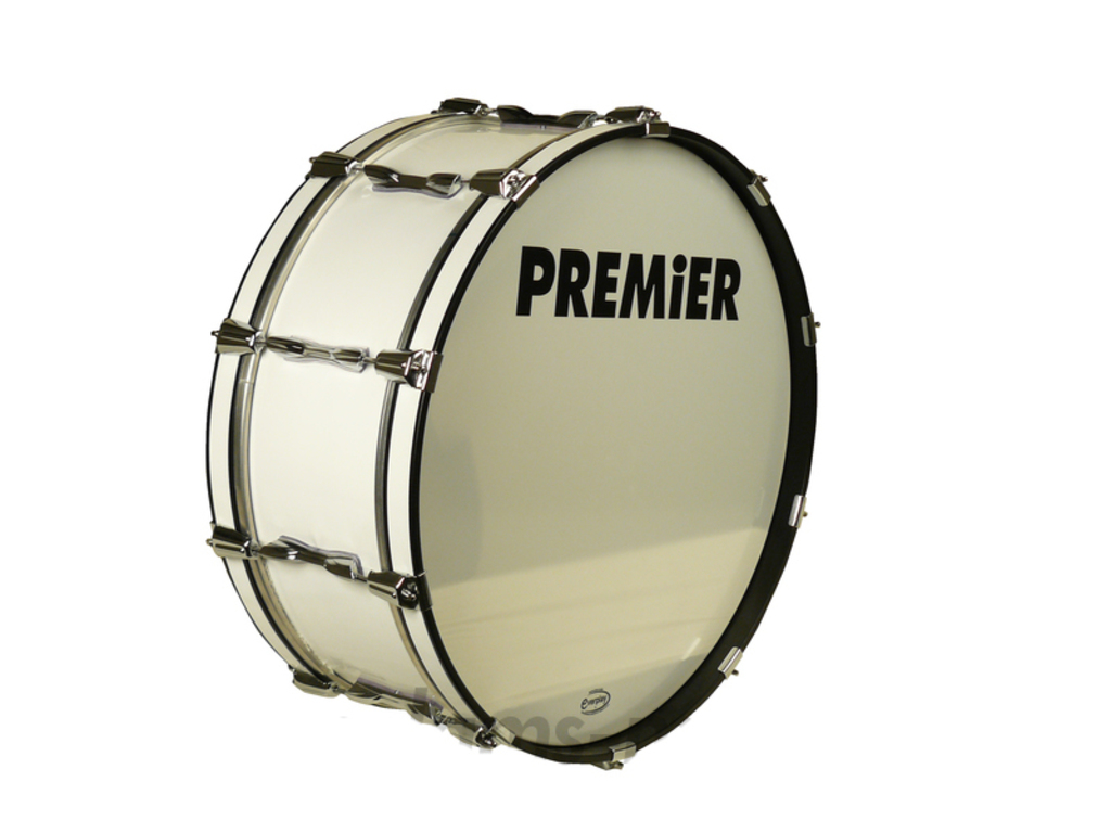 "Bassdrum Premier 186, 26""x10"" Single Carrying Ring, Wit"