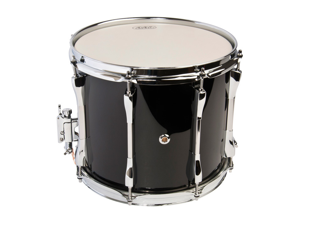 "Snaredrum Adams 1210WBP, 12""x10"", wood, black parade line"