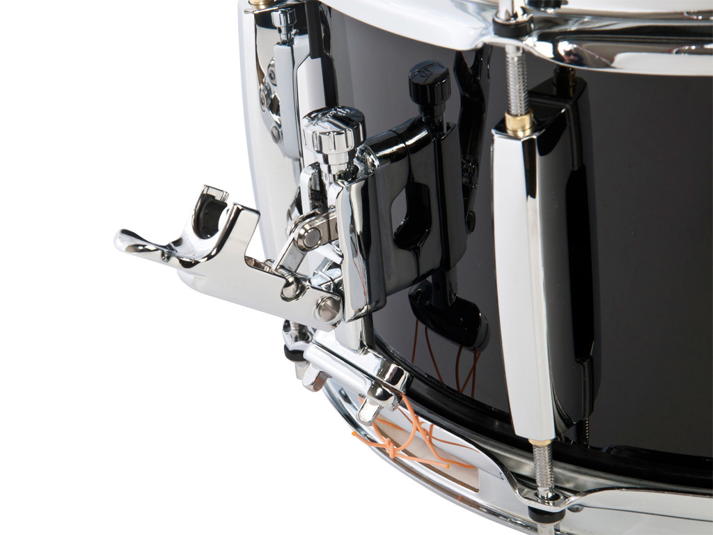 "Snaredrum Adams 1265WBP, 12""x6,5"", wood, black parade line"