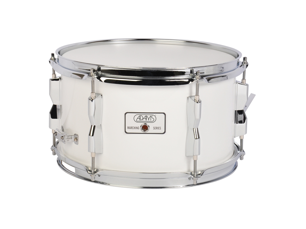 "Snaredrum Adams 1270WWE, 12""x7"", Wood, White Economy Line"