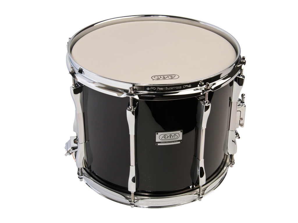 "Snaredrum Adams 1310WBP, 13""x10"", wood, black parade line"