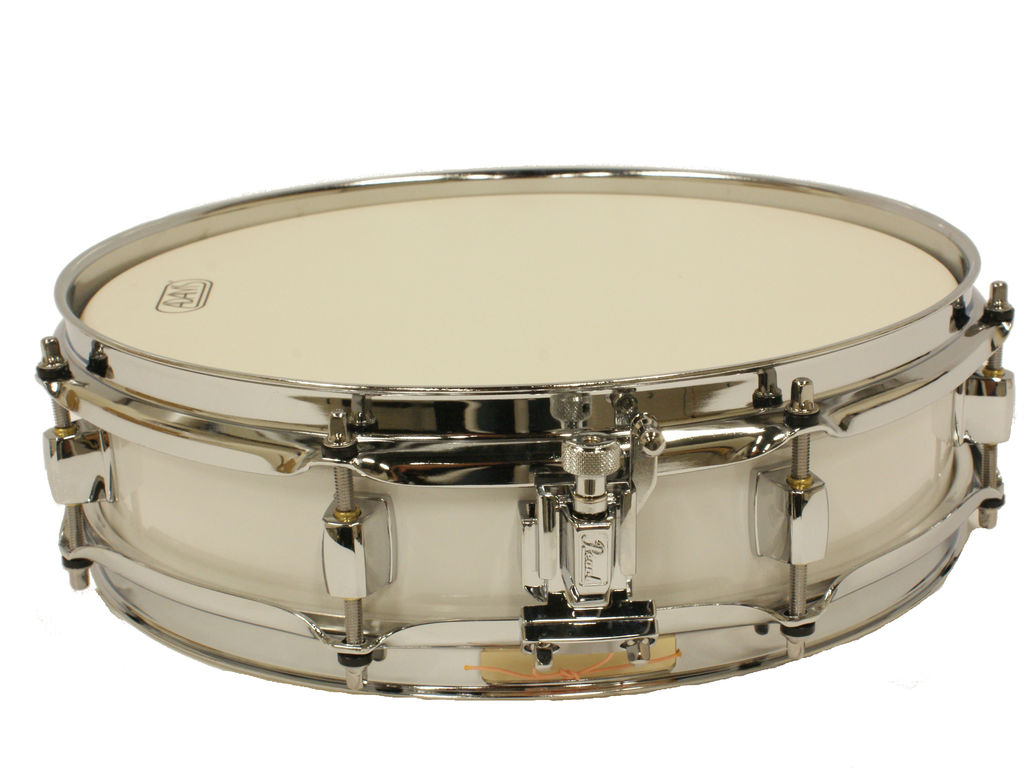 "Snare Drum Adams 1330WWP, 13""x3"", wood, white parade line"