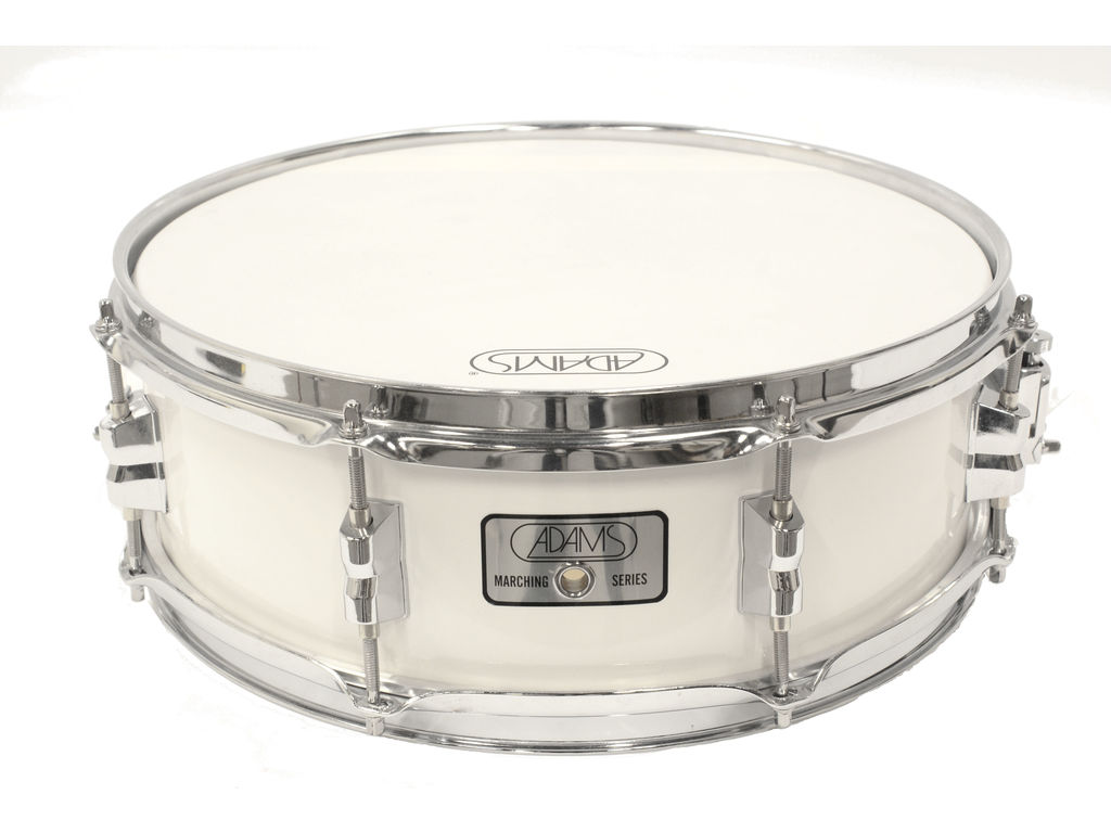 "Snaredrum Adams 1340WWE, 13""x4"", Wood, White Economy Line"