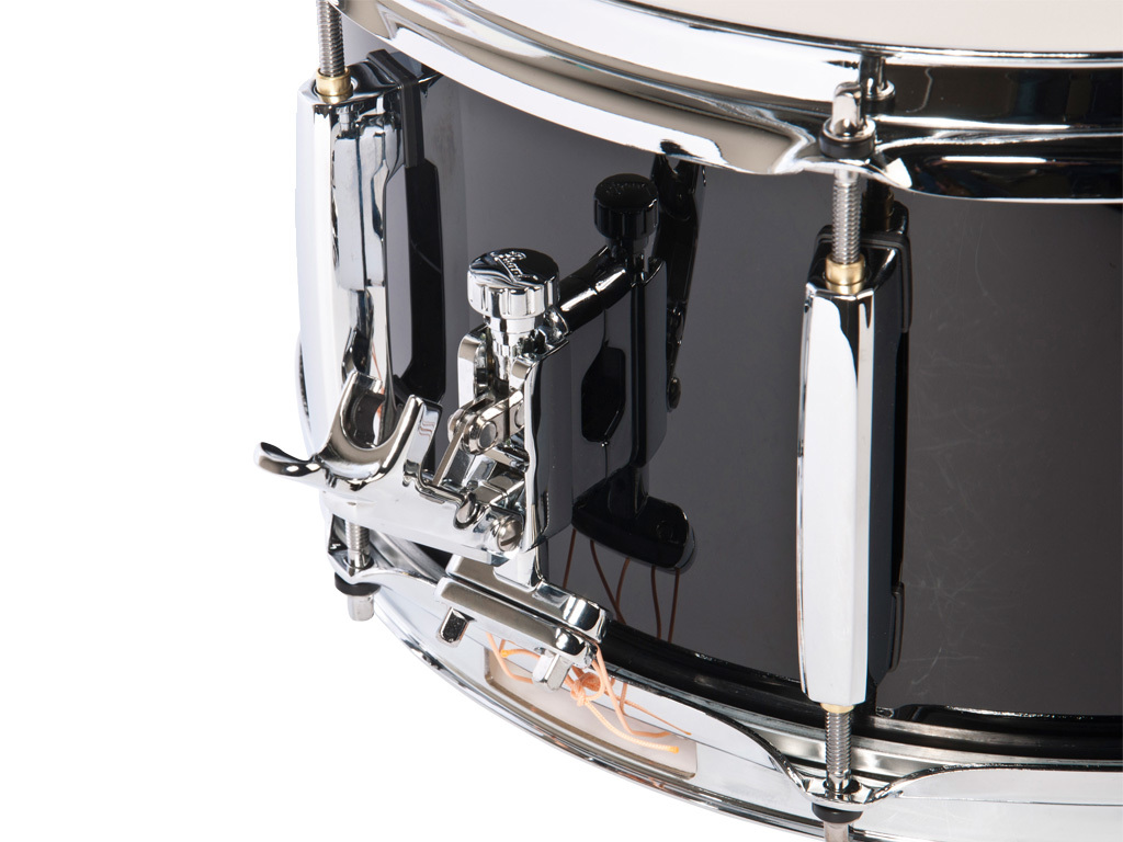 "Snaredrum Adams 1365WBP, 13""x6,5"", wood, black parade line"