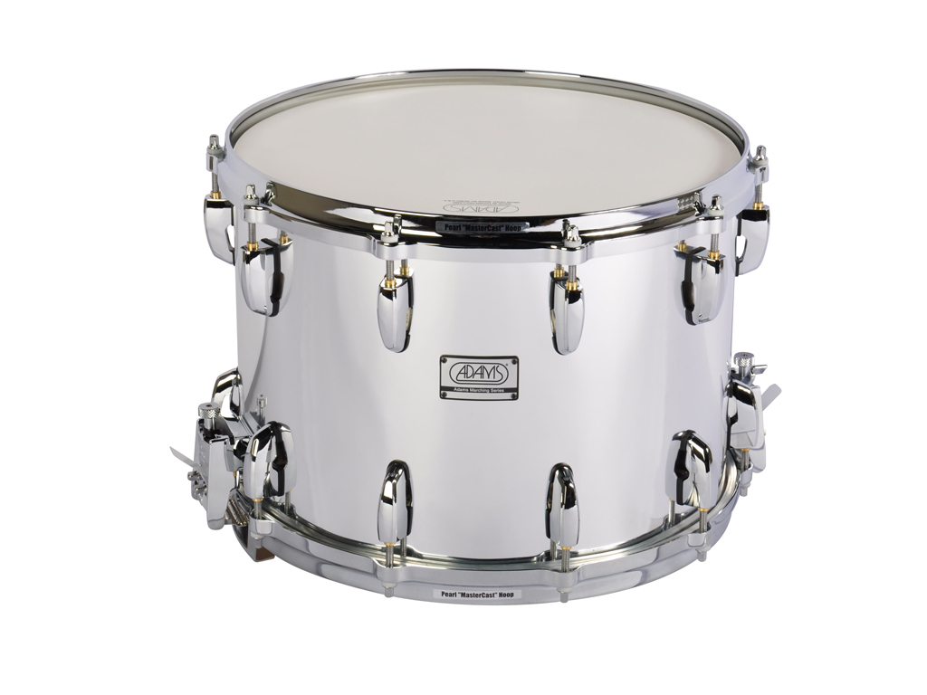 "Snaredrum Adams 1410WCP, 14""x10"", Wood, Chroom Parade Line"