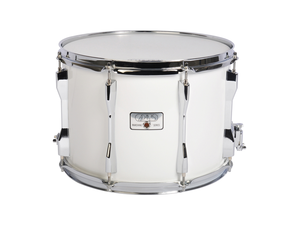 "Snaredrum Adams 1410WWE, 14""x10"", Wood, White Economy Line"