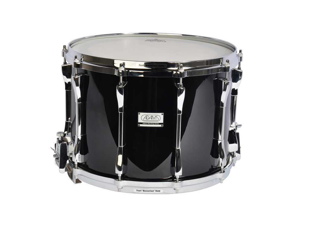 "Snaredrum Adams 1410WBP, 14""x10"", Wood, Black Parade Line"
