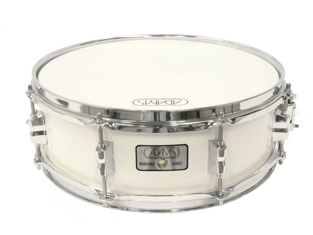 "Snaredrum Adams 1450WWE, 14""x5"", Wood, White Economy Line"